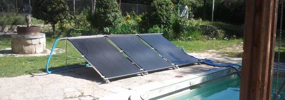 placas solares para calentar agua de piscina